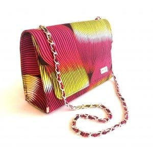 Learn to cover your bag with ankara
