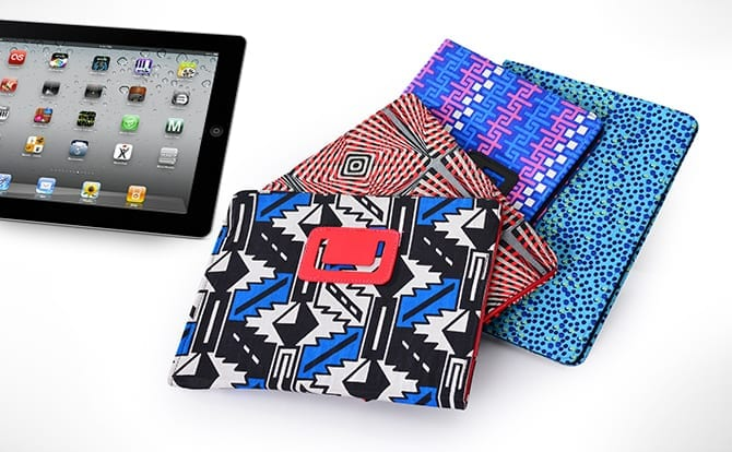 Ankara iPad Pouch