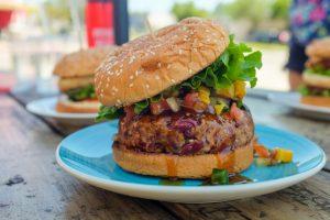 How to make a simple vegan burger