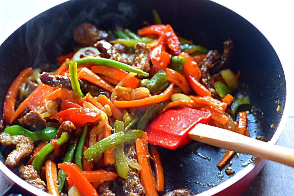 How to make easy beef stirfry