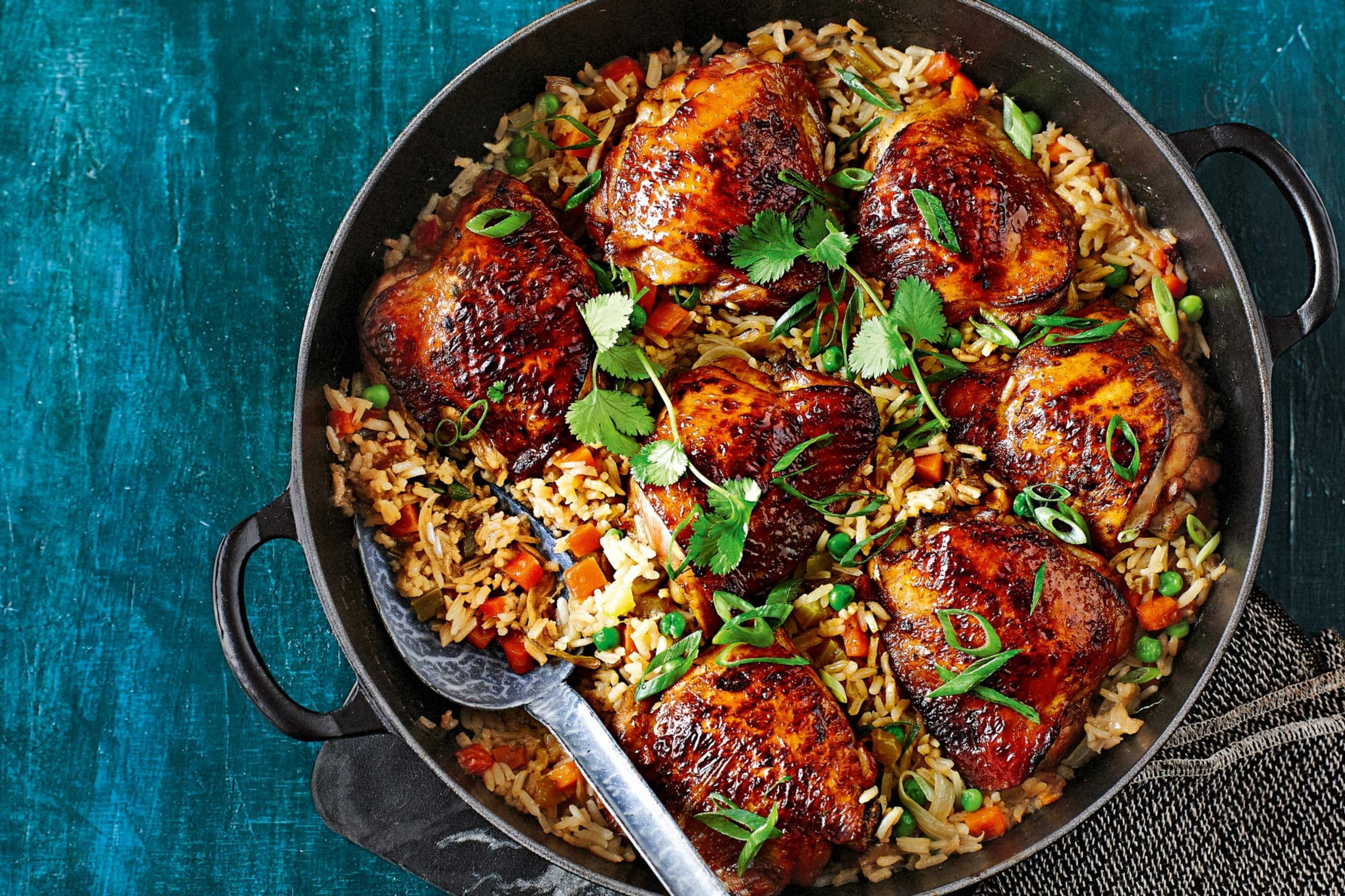 How to make one pot chicken and rice