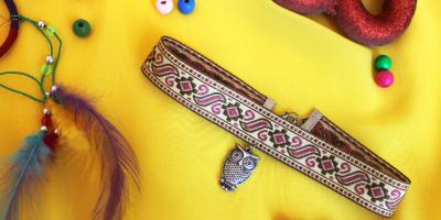 How to make an Ankara Choker (Necklace)