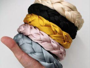 How to make DIY big-braided trendy headband