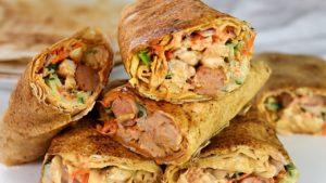 How to Make Chicken and Sausage Shawarma