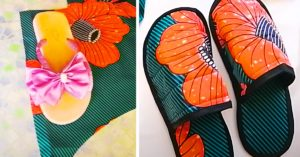 How to make DIY stylish sandals from old flip flops