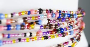 How to make African waist beads at home