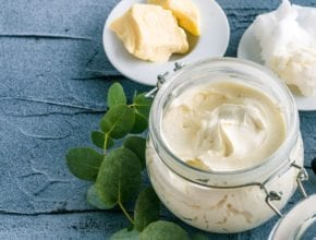 How to make a non-greasy natural body butter/moisturizer