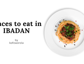Places to eat in Ibadan