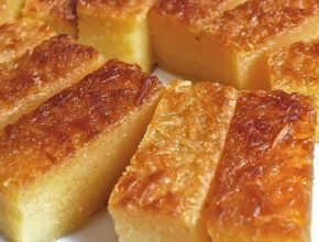 How to make steamed cassava cake at home (no oven)