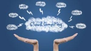 Benefits of cloud computing on business activities