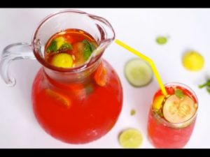 How to make a refreshing Chapman drink at home