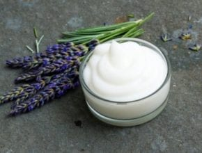 How to make a DIY natural foot cream at home.