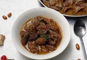 How to make assorted meat pepper soup at home