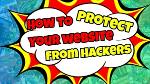 to protect your websites from hackers.